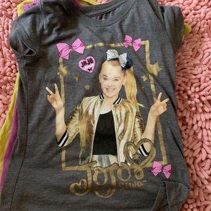3-pc girls cool shirts bundle - Jojo Siwa, etc